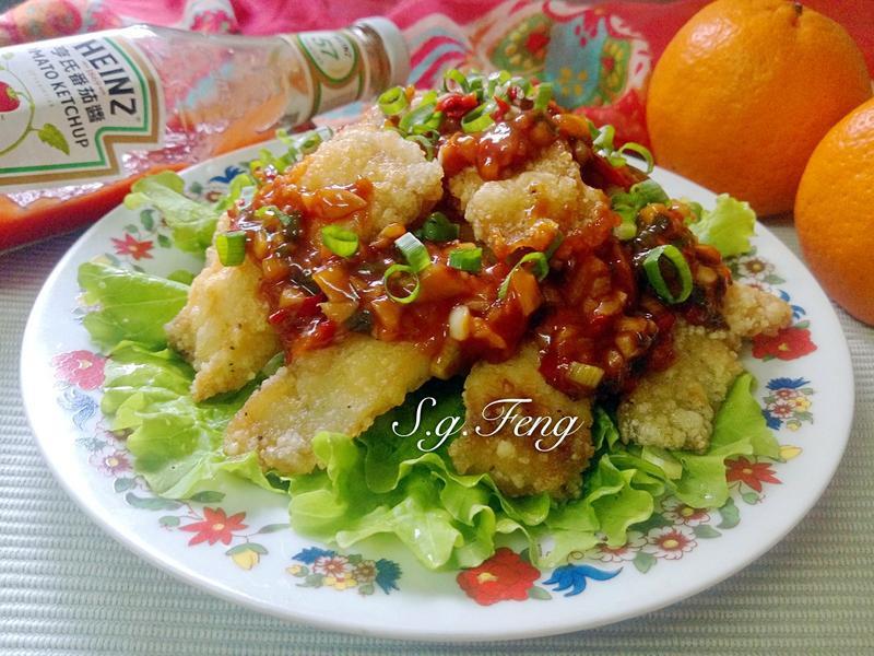 茄醬黃金魚片