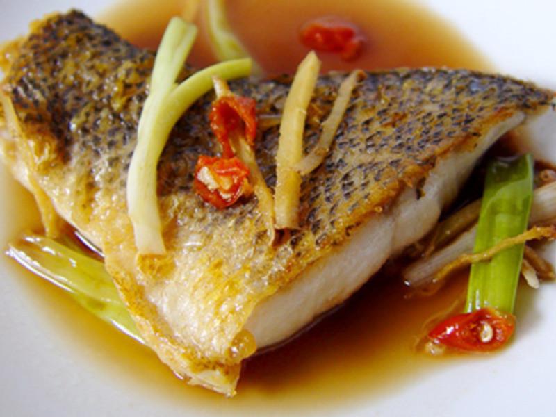 【厚生廚房】蔥燒鱸魚