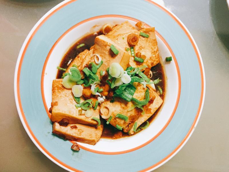 家常紅燒豆腐 家常菜