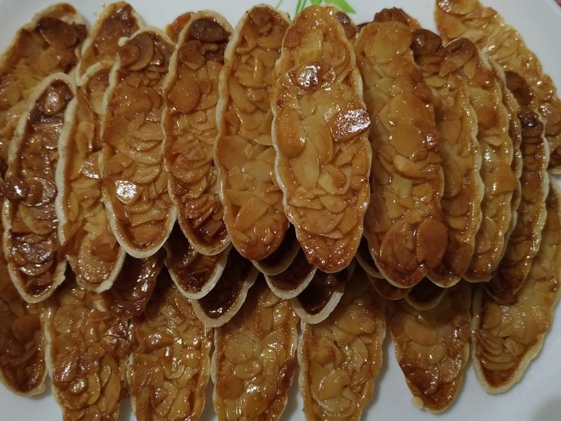 🐄奶香蜂蜜🐝杏仁船型餅乾