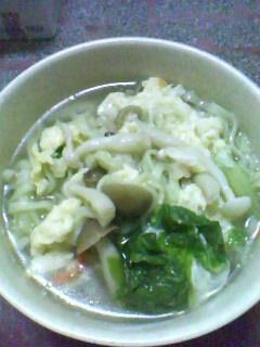 好菇道-雙菇蔬菜湯麵