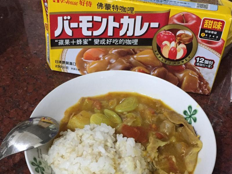 金咖哩-南瓜肉片咖哩【佛蒙特甜味咖哩】