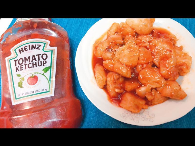 茄汁蜂蜜炸雞塊「亨氏番茄醬/原味」