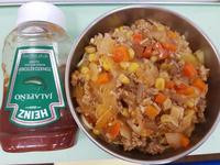 義大利肉醬麵/亨氏蕃茄醬