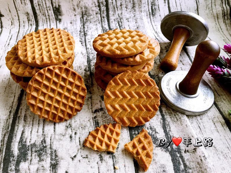 咖啡杏仁香酥餅乾(無蛋配方、酥鬆口感)