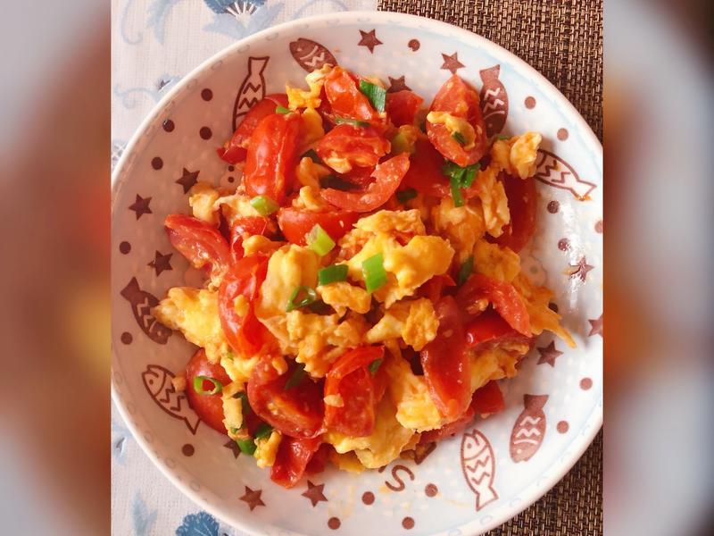 小番茄炒蛋
