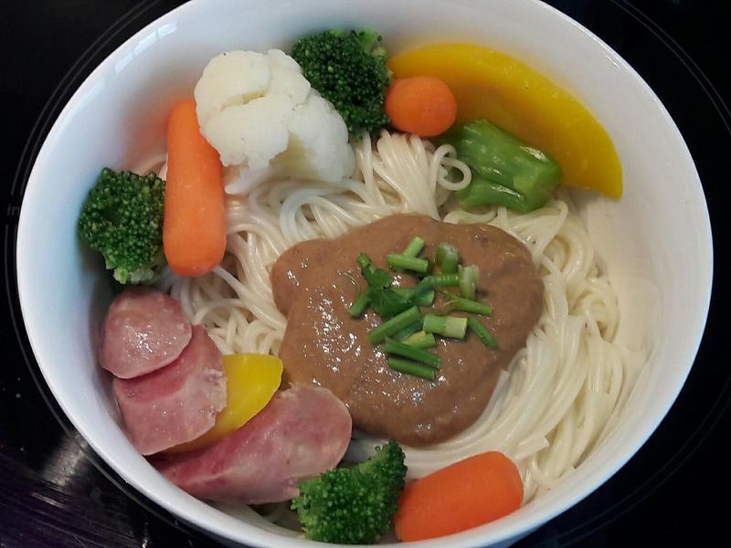 彩蔬麻醬麵 麻醬拌面 早餐 宵夜 點心