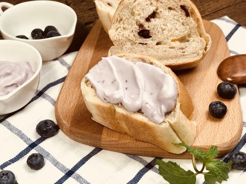 藍莓水切優格醬