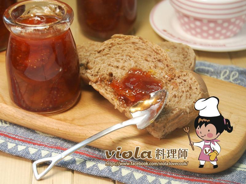 草莓金棗醬