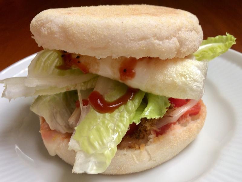 早餐馬芬漢堡 在家做升級版 麥當當蛋堡