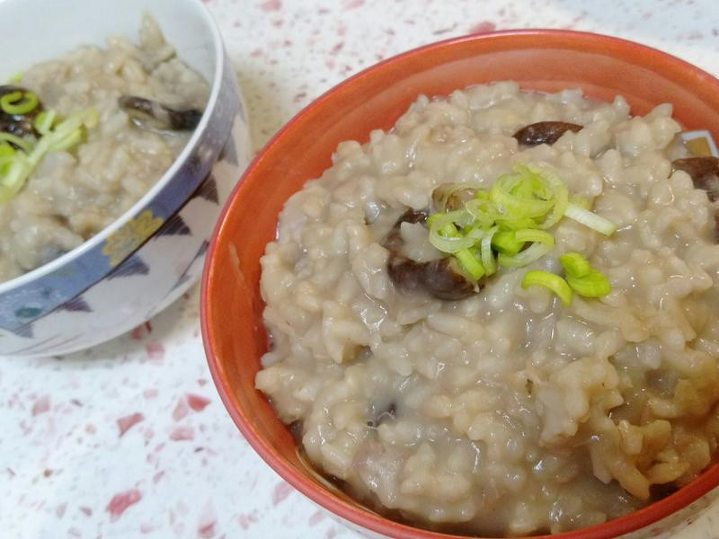 【古早味香菇芋頭粥】綿密的煮法,一定要學