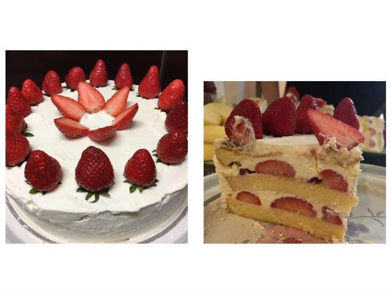 草莓🍓鮮奶油蛋糕🍰🎂