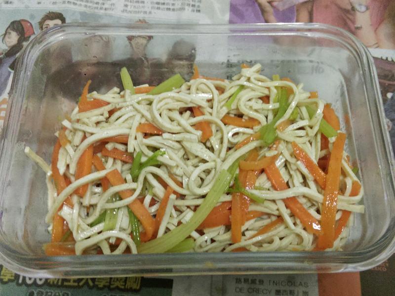 ¥涼拌豆干絲¥