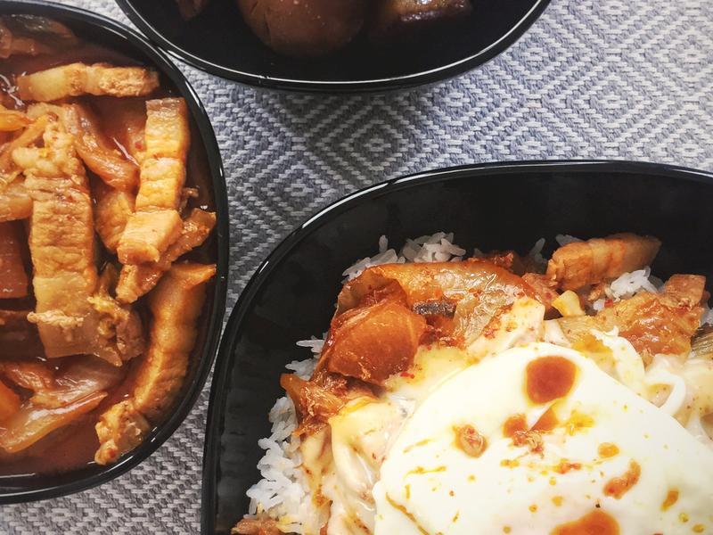 [留學生·異國]韓式起司泡菜豬飯