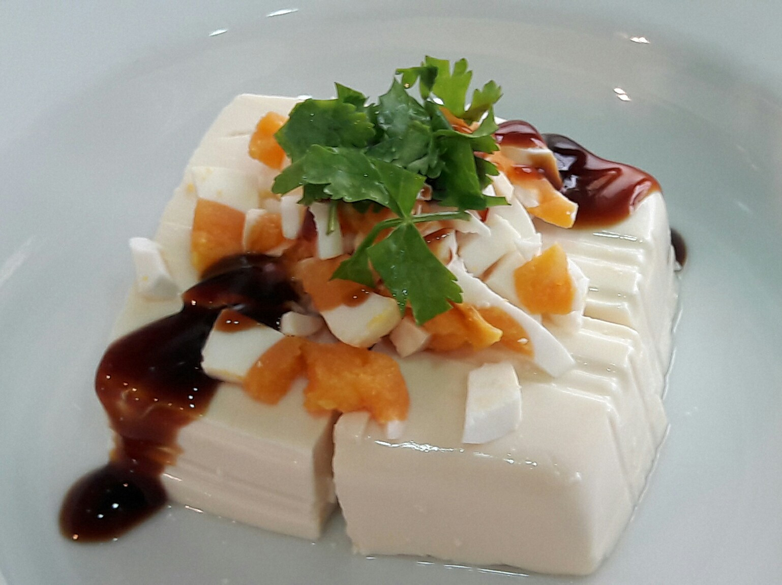 鹹蛋豆腐 清粥小菜 早餐配菜 五分鐘小菜