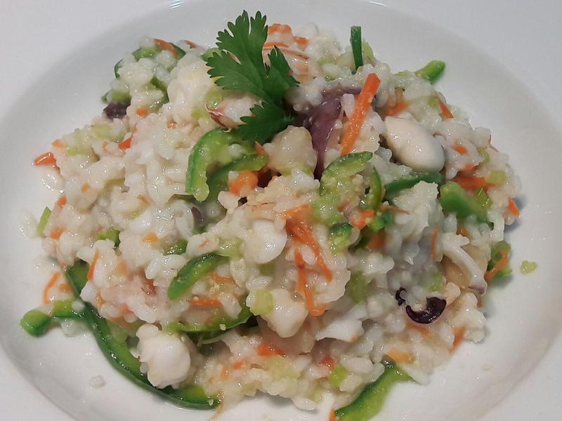 蔬菜義式海鮮燉飯