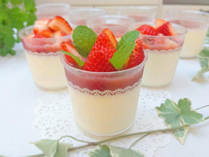草莓鮮奶酪