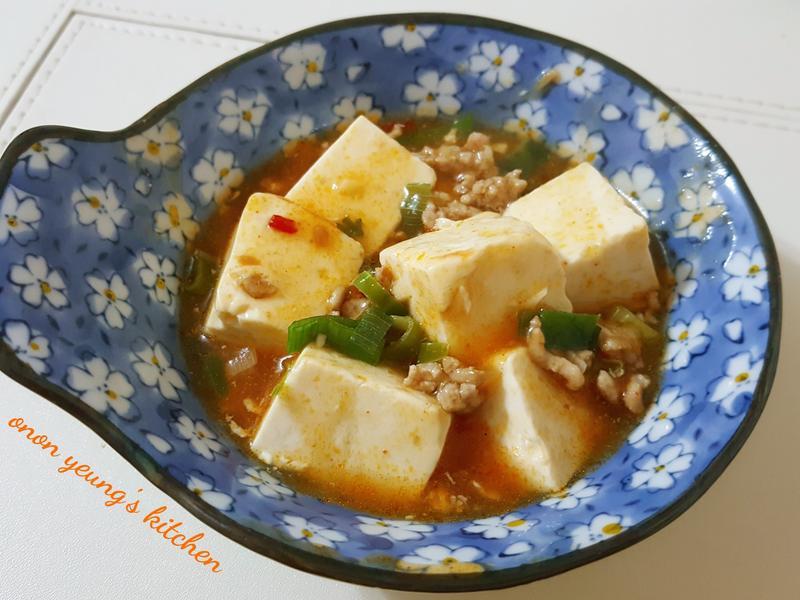 家常菜の麻婆豆腐