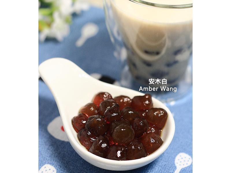 黑糖粉圓鮮奶-自製粉圓(影音)