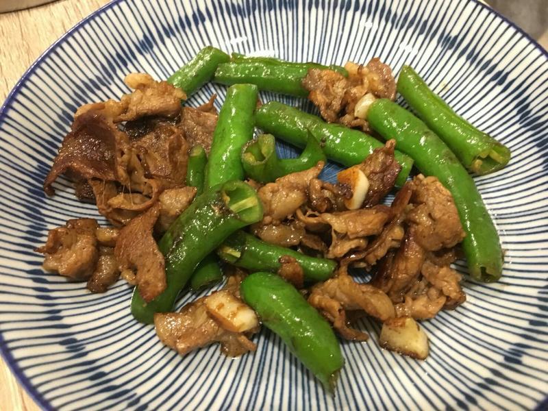 青辣椒炒牛肉