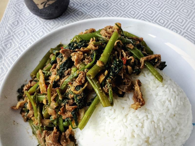[留學生·思鄉]沙茶羊肉飯