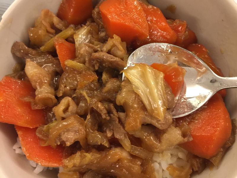 蔬菜燉肉😋