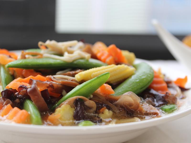 素蔬什錦菇 #罐頭料理
