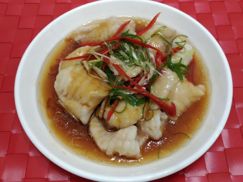 醬汁魚片(海鱸魚)