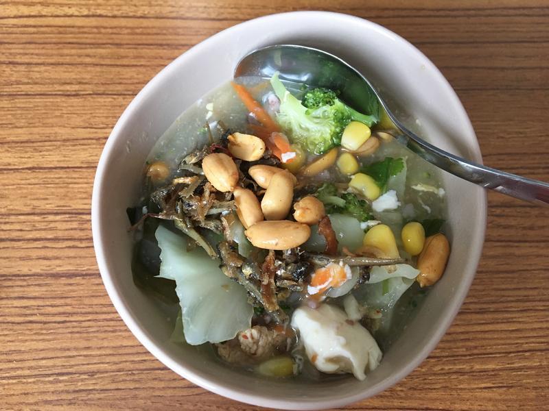 康寶濃湯銀魚海帶芽粥