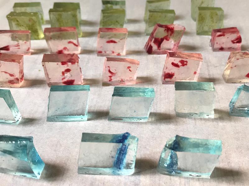 寶石首飾糖~琉璃糖,天然無人工色素