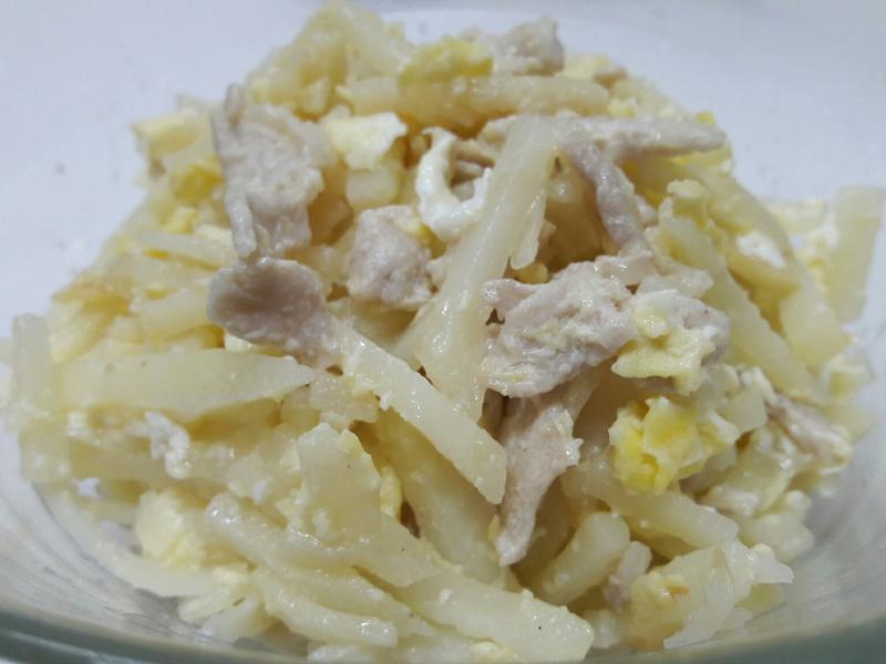 馬鈴薯炒肉絲蛋 便當菜 家常菜