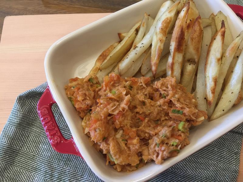 烤薯條佐鮪魚醬(影片)