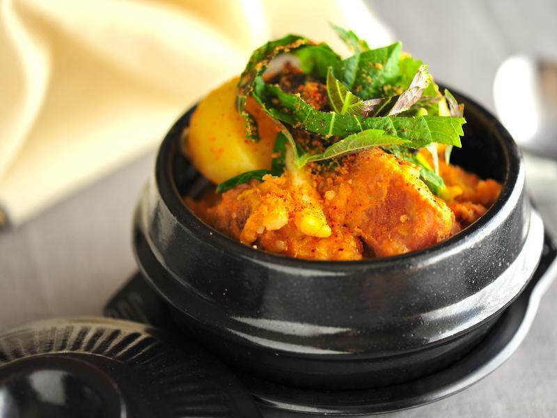 韓式薯仔排骨湯