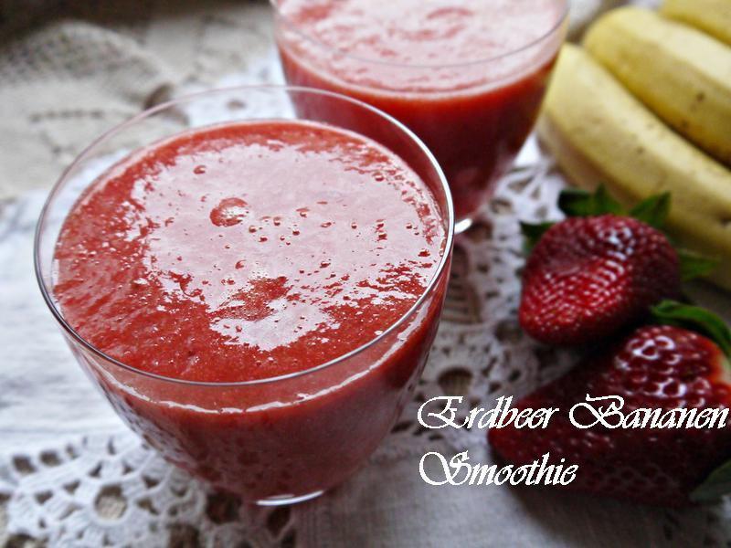 草莓香蕉Smoothie