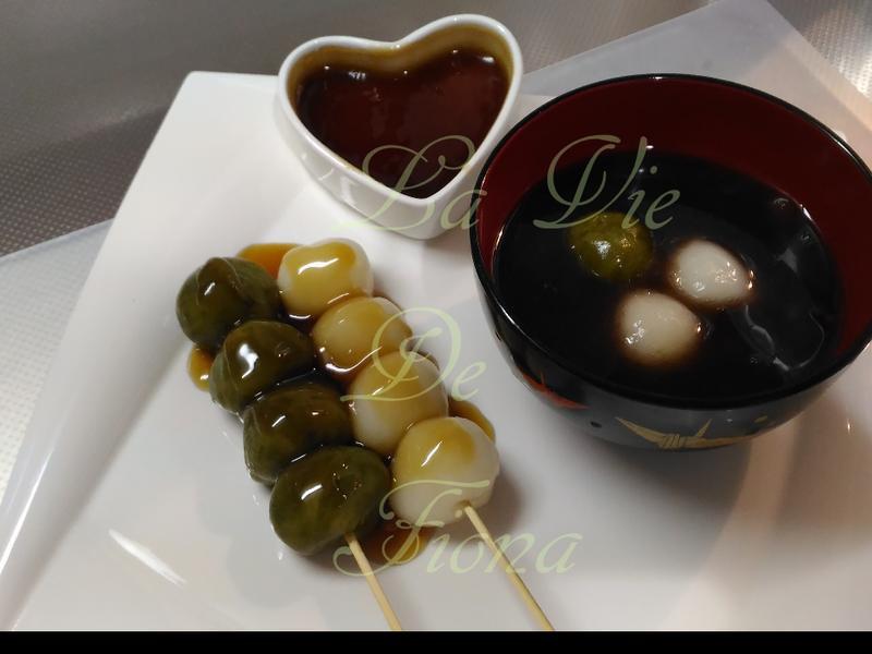 日本団子/甜醬油団子