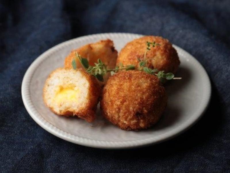 義式爆漿炸飯糰《不剩食的美味魔法》 省錢