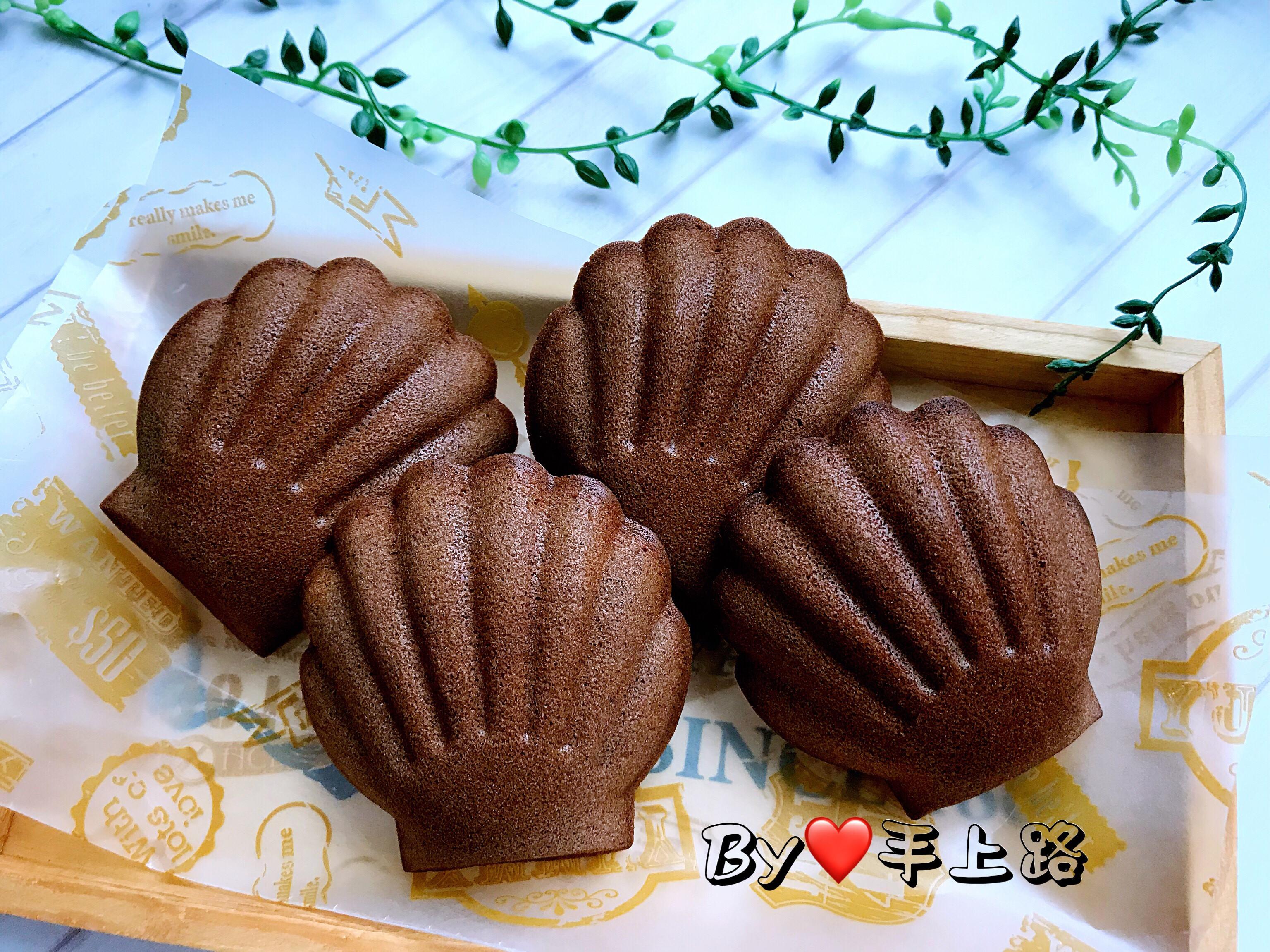 法芙娜可可杏仁瑪德蓮貝殼蛋糕