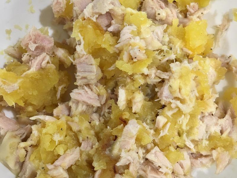 高蛋白「起司地瓜鮪魚沙拉」250卡