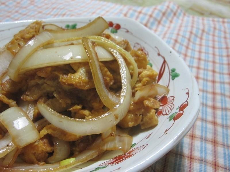 【康寶鮮味炒手】洋蔥肉鬆蛋