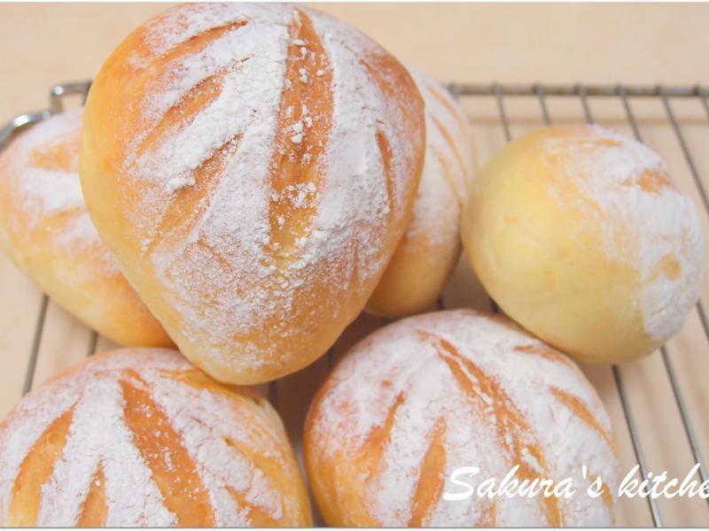 ♥我的手作料理♥ 歐式牛奶麵包