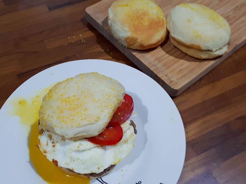 英式鬆餅麵包(滿福堡)