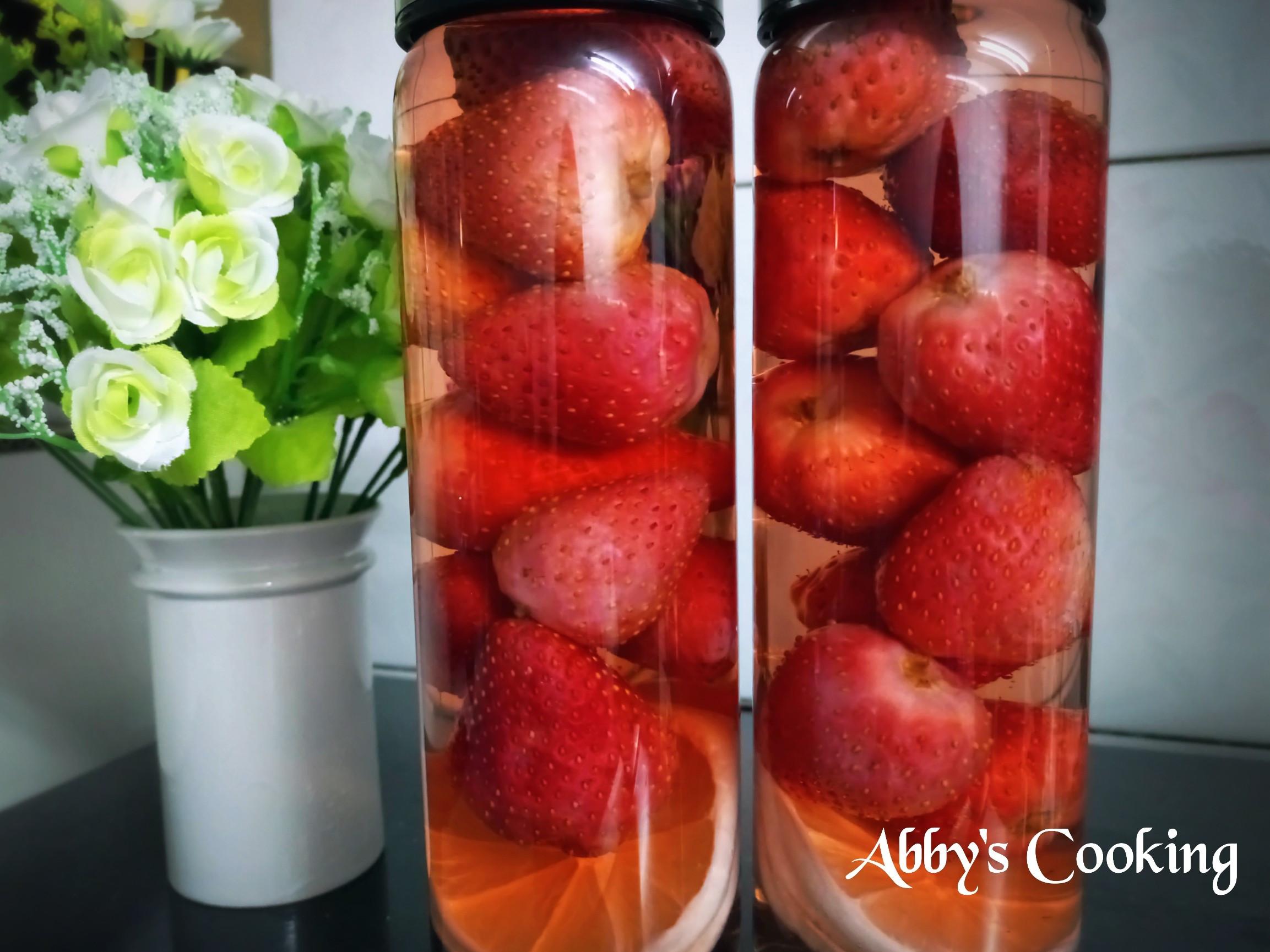 自製草莓酒