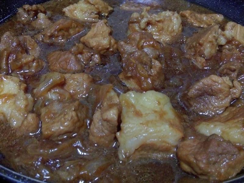 蜂蜜肉桂豬角