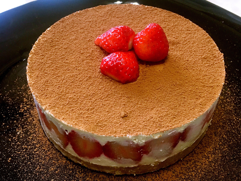 草莓乳酪蛋糕🍓