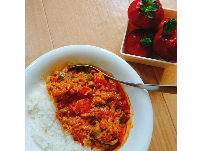 印度風奶油咖哩雞(無水版本)—留學生食譜