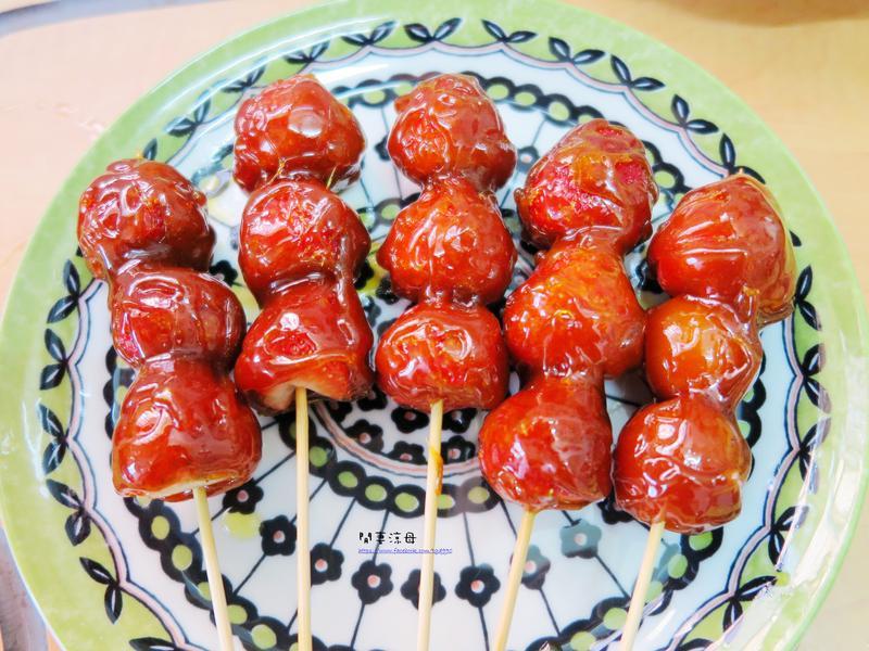 懷念小吃-糖葫蘆(草莓/蕃茄)