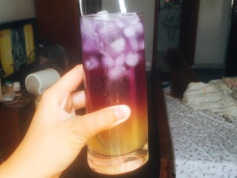 🌞夏日蝶豆花檸檬飲。生酮飲食