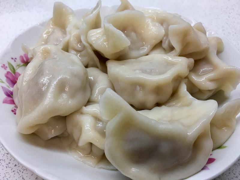 酸白菜水餃