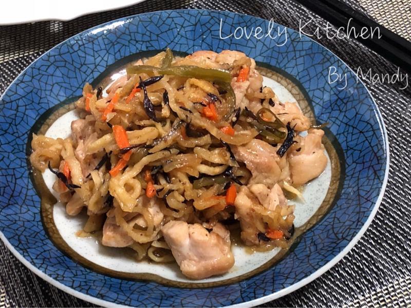 日式大根雞肉煮