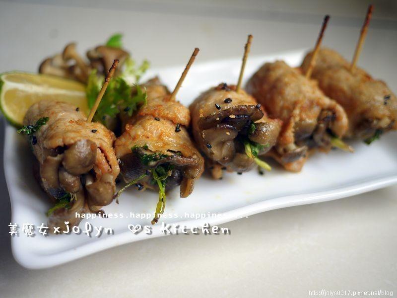 「好菇道菇idea」南洋菇菇沙嗲豬肉串